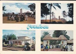 CAMEROUN---FOUMBAN--multivues--la Mosquée-eglise Catholique-entrée Du Palais Du Sultan---voir 2 Scans - Cameroun