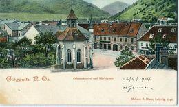 AUTRICHE / ÖSTERREICH : Gloggnitz : Ottmarkirche Und Marktplatz - Neunkirchen