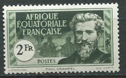 Afrique Equatoriale Française - Yvert N° 57 ** - Ad30710 - Ongebruikt