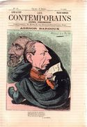 Les Contemporains.n°18.AGENOR BARDOUX.1880.ALFRED LE PETIT-FELICIEN CHAMPSAUR.4 Pages. - 1850 - 1899