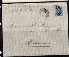 1901 > Buijs-Hennekler > Makassar Vierkantstempel & Weltevreden (BS) - Lettres & Documents