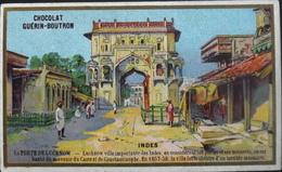 Chromo & Image - Chromo. Tour Doré - Chocolat Guérin-Boutron - Les Indes - La Porte De Lucknow - En B. état - Guérin-Boutron