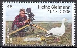 Bund MiNr. 3318 ** 100. Geburtstag Von Heinz Sielmann - [7] Repubblica Federale