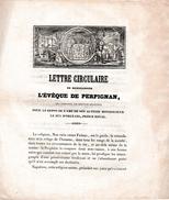 (13 Juillet 1842 MORT Accidentelle Du Duc D'ORLÉANS, Prince Royal) - Juillet 1843 Jour Anniversaire De Sa Mort - - Documents Historiques