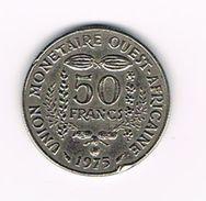 )  WEST AFRICAN STATES  50 FRANCS  1975 - Centrafricaine (République)