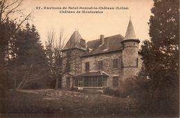 42. Environs De Saint Bonnet Le Chateau. Chateau De Montorsier. - Sonstige Gemeinden