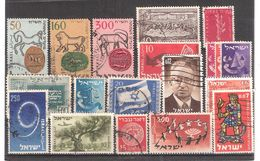 ISRAEL , Collection De 19 Timbres Obl Dont Anciens, TB - Collections, Lots & Séries