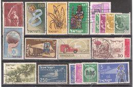 ISRAEL , Collection De 20 Timbres Obl Dont Anciens, TB - Israel