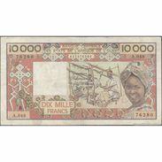 TWN - BENIN 209Bj - 10000 10.000 Francs 1991 A.048 - 76280 F+ - Benin