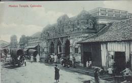 SRI LANKA---COLOMBO--hindoo Temple---voir 2 Scans - Sri Lanka (Ceylon)