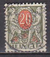 PGL - SWITZERLAND TAX N°58 - Taxe