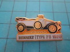 Pin715e Pin's Pins / AUTOMOBILE : Superbe RENAULT TYPE FB De 1920   ; Pas Commun Et De Belle Qualité !!! CEF PARIS - Renault