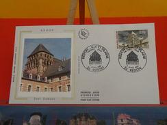 Coté 1,80€ - Redon Tour Romane - 7.3.1987 - 35 Redon - FDC 1er Jour - 1980-1989