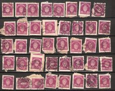 Norway 1926 Lot 20 øre Official  40 Pieces, Mi Official 4, Used - Service