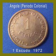 Angola Coins 1 Escudo 1972 - Angola