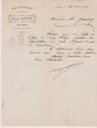 LES GRAS - Fabrique Horlogerie Henri Moyse  1909 / Canton Morteau Environ Ville Du Pont - Old Professions