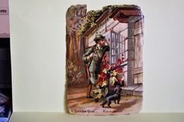 CHOCOLAT POULAIN 1 CHROMO GAUFREE - Chaperon Rouge 9 - Poulain
