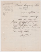 LES GRAS - Fabrique Horlogerie Henri Moyse  1915 / Canton Morteau Environ Ville Du Pont - Old Professions
