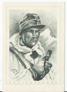 Dt.- Reich (001947) Propagandakarte Der Deutsche Soldat, Gebirgsjäger, Ungebraucht - Briefe U. Dokumente