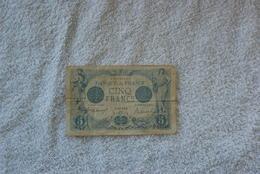5 Francs Bleu Sagitaire - 1871-1952 Circulated During XXth