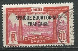 GABON - YVERT N° 117 Oblitéré  -  Ad30802 - Gabon (1886-1936)
