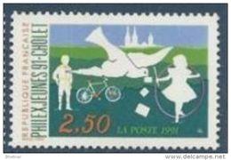 "Timbre France Yt 2690 "" Philexjeunes 91-Cholet "" 1991 Neuf - France"
