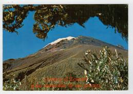 MAXICARD   ECUADOR  SUR  AMERICA    EL  TUNGURAHUA    5087 Mts  2  SCAN   (VIAGGIATA) - Ecuador