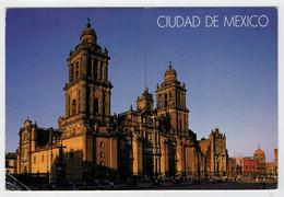 MAXICARD      CIUDAD   DE  MEXICO    (TIMBRO  BLU)   2  SCAN   (VIAGGIATA) - Messico
