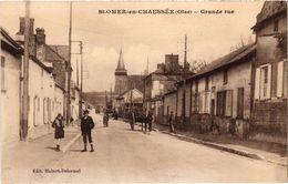 SAINT OMER EN CHAUSSEE (60) La Grande Rue - Belle Carte - France