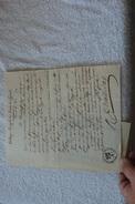 COLLEGE ROYAL LOUIS LE GRAND DEMANDE D UNE BOURSE POUR UN MARECHAL DES LOGIS DU ROI - Documenti