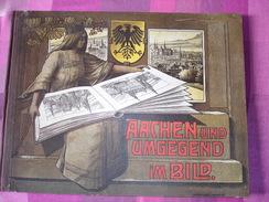 """Aachen Aken """"Aachen Und Umgegend Im Bild """" Mit 24 Tafeln  Ca 1910 - Architecture"""