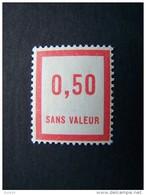 FICTIFS NEUF ** N°F 34 SANS CHARNIERE (FICTIF F34) - Phantomausgaben