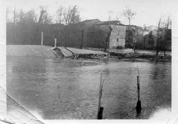 47 Astaffort  -Rare Photo Inondation Années 50 -Moulin Et Atelier De Peinture Sainte-Marie   - Photo 8x6 - Lugares
