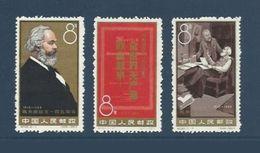 Chine China 1963 Yv.1466/1468 ** Karl Marx Ref C98 - Ongebruikt
