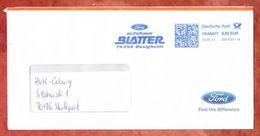 Brief, FRANKIT Francotyp-Postalia 3D010.., Ford Autohaus Blatter Besigheim, 55 C, 2012 (39762) - Machine Stamps (ATM)