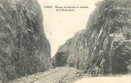 A-17. 7721  :   CHEMIN DE FER.  GARE TRAIN. LHUIS - Francia