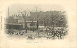 A-17. 7723  :   CHEMIN DE FER.  GARE. TRAIN. MIRIBEL - Autres Communes