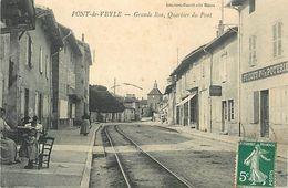 A-17. 7726  :   LIGNE DE CHEMIN DE FER.  PONT DE VEYLE - France