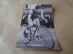Cp M Rohrbach - Radsport