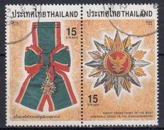 TAILANDIA 1998 Nº 1833/34 USADO - Tailandia