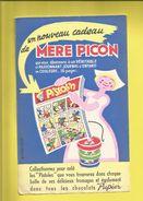 Buvard  MÈRE PICON  Vantant Le Livre PISTOLIN Collectionnez Les Pistoles à Trouver Dans Chaque Boîte De Fromage Et Choco - Food