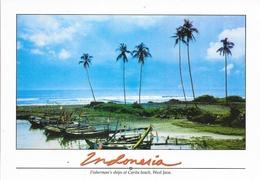 Indonesia - Lot De 5 CPM Non Circulées - Java, Sumatra, Kake Toba, Jakarta... - Indonesië