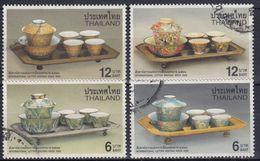 TAILANDIA 2000 Nº 1930/33 USADO - Tailandia