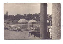 5000 KÖLN - DEUTZ, Rheinpark, 1934, Photo-AK, Druckstelle - Koeln