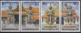 TAILANDIA 2001 Nº 1947/50 USADO - Tailandia