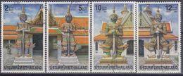 TAILANDIA 2001 Nº 1947/50 USADO - Thaïlande