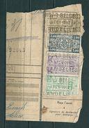 Fragment Met Stempel NORD BELGE LANDELIES - Noord-België