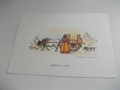 ILLUSTRATORE VEDI FIRMA NICOULINE  E LAVARELLO  SERIE SECONDA MONGOLIA 1902 - Altri