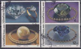 TAILANDIA 2001 Nº 1954/57 USADO - Tailandia