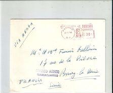 Enveloppe -  ( Imprimé )  Cachet Postal Au Départ  De La  République Du  PANAMA à Destination  De  Bourg - La - Reine - Vieux Papiers